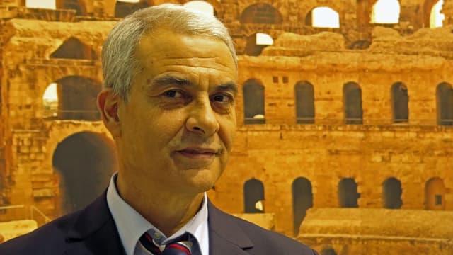 Porträt des Direktors des Fremdenverkehrsbüros Tunesien, Boudeir Bouraoui.