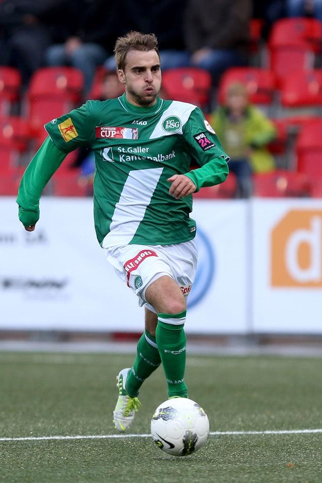 Nico Abegglen spielt künftig für den FC Vaduz.