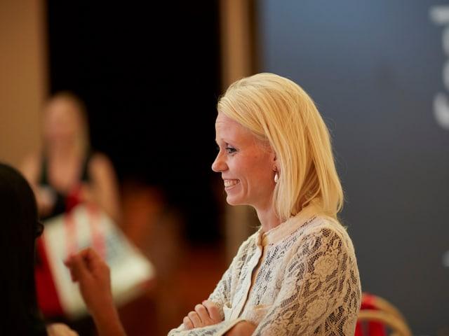 Lilian Studer am Prix Benevol