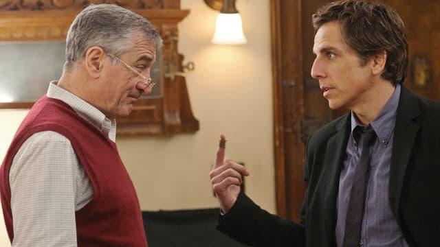 Robert De Niro als Jack Byrnes, Ben Stiller als Greg Fokker.