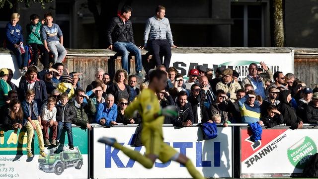 Die Fans des FC Breitenrain.