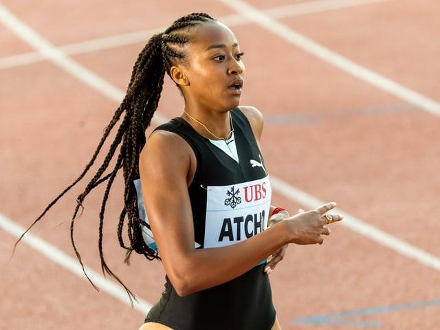 Sprinterin Sarah Atcho.