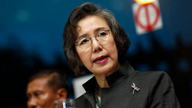 Die Südkoreanerin Yanghee Lee unterwegs in Burma
