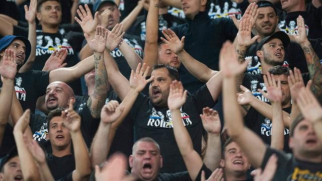 Die Fans von Rumänien