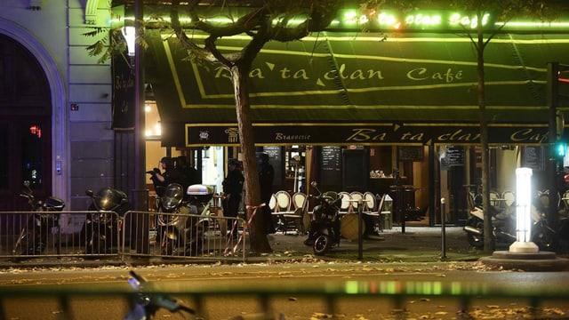 Il local da musica Bataclan a Paris.