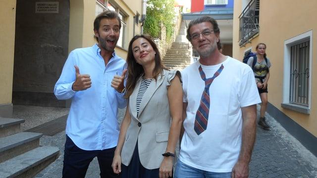 Video «Kanton Tessin – Tag 3 – Seven, Lugano (Wiederholung)» abspielen