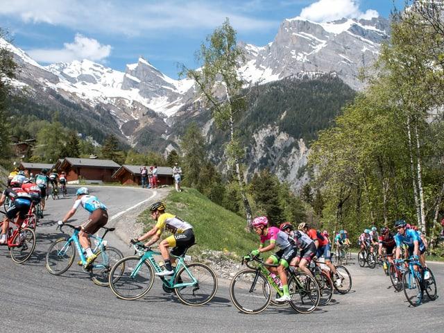 Die Strecke wird wie zuletzt 2018 durch Sion und auf die Walliser Berge führen.