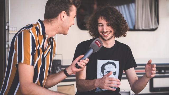 Kaufmann dat ina intervista a Livio Chistell