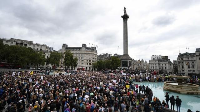 Tausende Demonstranten in London