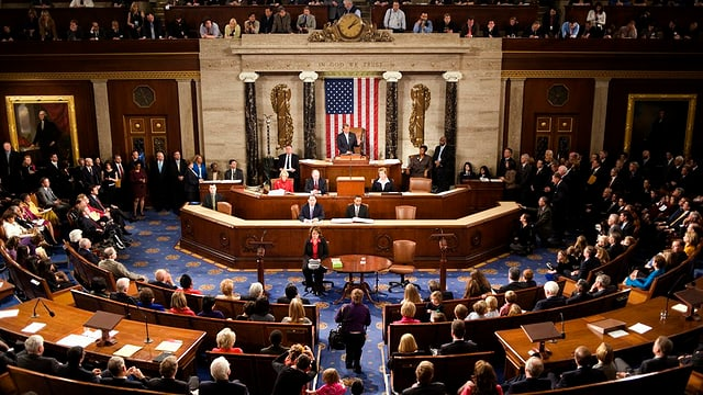 Vista en il congress american.