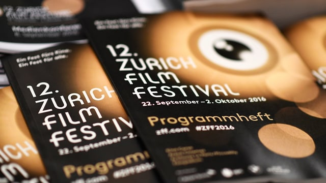 Das Programm des Zurich Film Festival.
