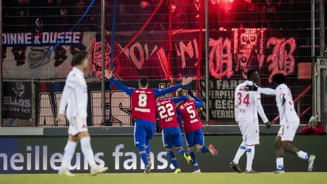 giugaders da ballape, FC Basilea cunter Sion