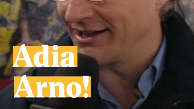 Laschar ir video «Adia Arno!»