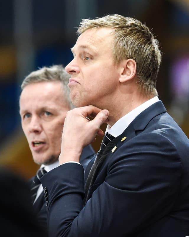 Ils dus trenaders novs dals ZSC Lions hans Wallson e Lars Johansson.