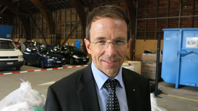 Martin Zumstein, Geschäftsführer des Abfallverbandes REAL.