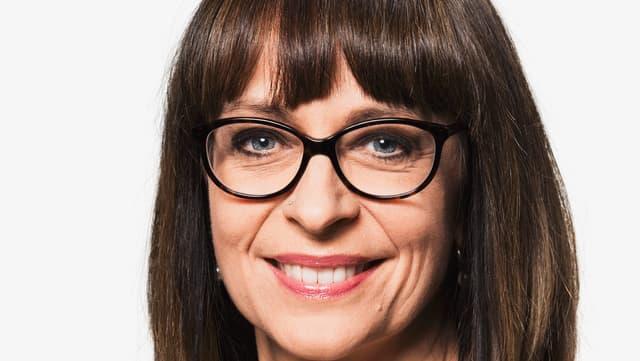 Portrait von Gabriela Baumgartner.