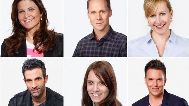 6 Moderatoren im Portrait