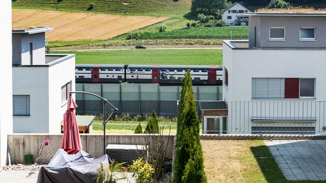 Siedlung in Oberwangen.