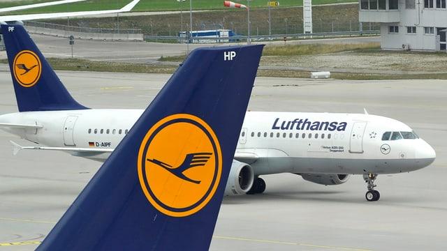 eroplan da la Lufthansa