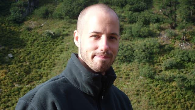 Porträt von David Gerke.