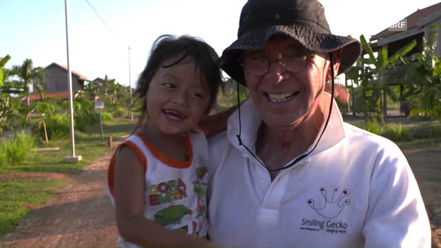 Hannes Schmid gründete «Smiling Gecko» für Notleidende in Kambodscha