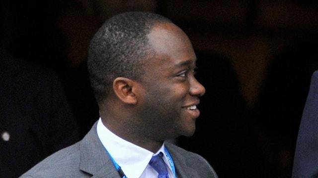Der britische Staatssekretär Sam Gyimah, zuständig für Forschung und Universitäten.