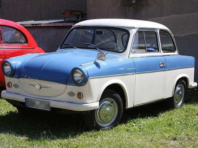 Ein Trabant der ersten Baureihe.