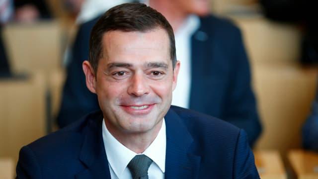 CDU-Landeschef Mike Mohring überstand eine Vertrauensabstimmung. Er wird jetzt zur zentralen Figur in Erfurt.