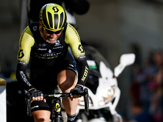 Michael Albasini an der Tour de Romandie 2018.
