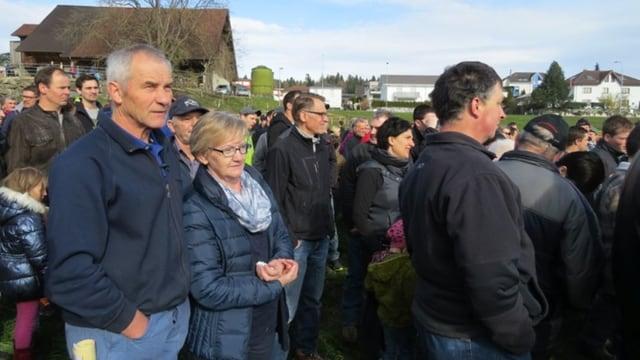 Die Pächter: Sepp und Paula Etterlin an der Gant