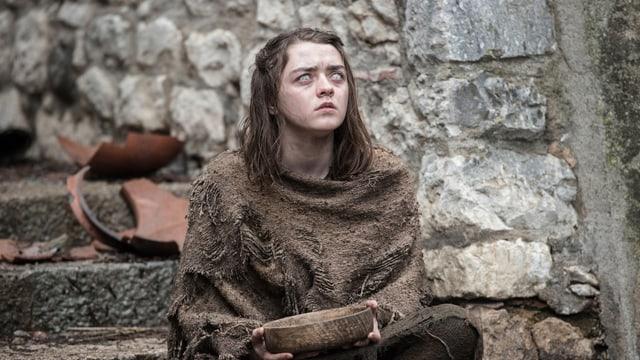 Maisie Williams verkörpert Arya Stark.