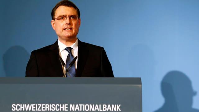 SNB-Präsident Thomas Jordan
