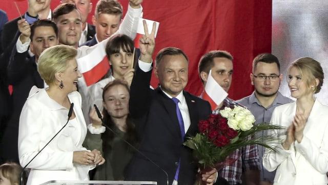 Il politicher polac Andrzej Duda.