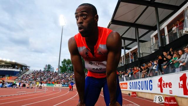 Tyson Gay wird seine Sprinter-Karriere fortsetzen können.