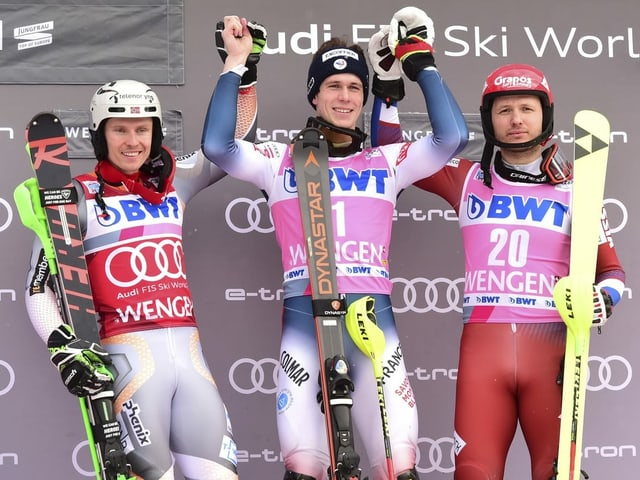 Ils victurs dal slalom a Wengen: