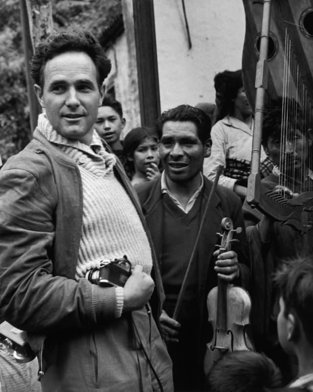 Werner Bischof in Peru, 3. Mai 1954