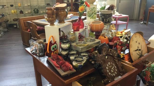 Das Brocki in Gossau machte 2017 gute Geschäfte mit gebrauchten Produkten.