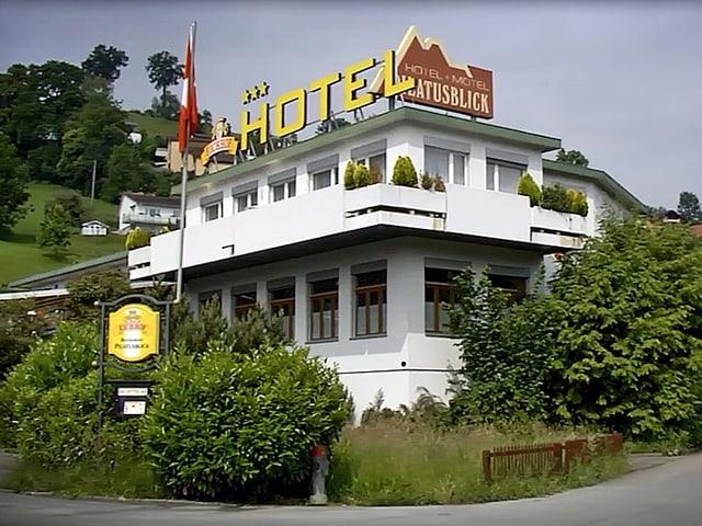 In Kriens wurde das ehemalige Motel zum Asylzentrum.