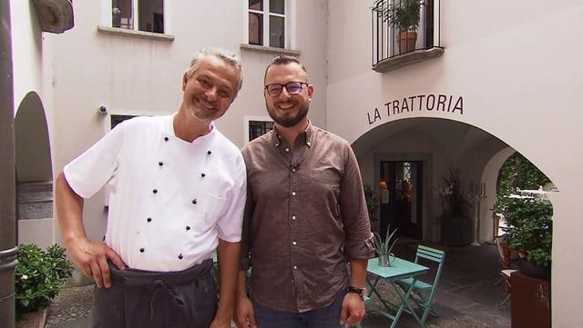 Video «Kanton Tessin – Tag 4 – La Trattoria, Locarno» abspielen
