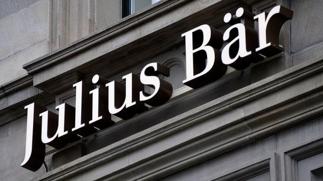 Purtret dal logo da Julius Bär.