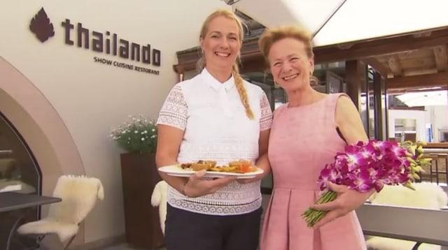 Video «Kanton Graubünden – Tag 1 – Restaurant Thailando, Silvaplana» abspielen