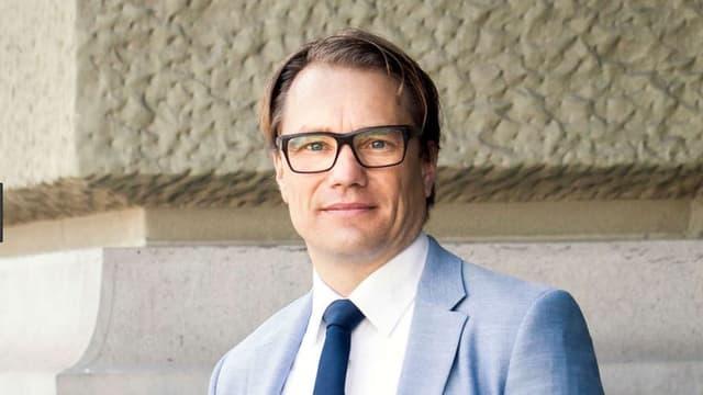 Der Politologe Lukas Golder.