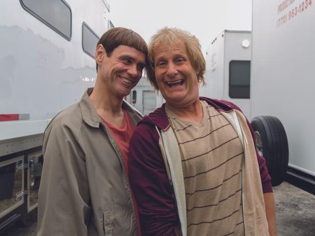 Jim Carrey und Jeff Daniels