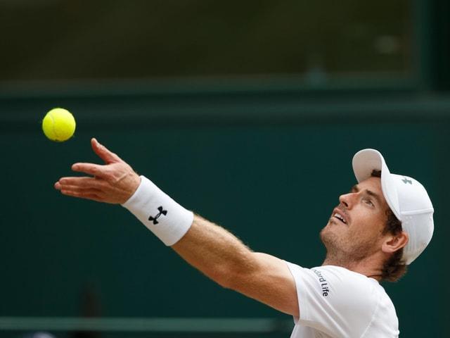 Andy Murray ist zurück im Training.