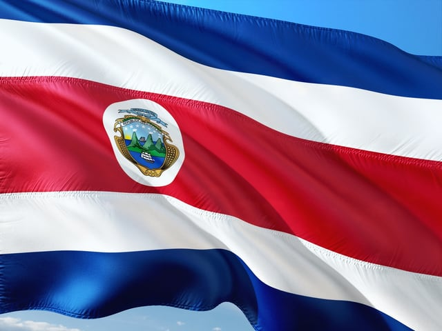 Flagge von Costa-Rica