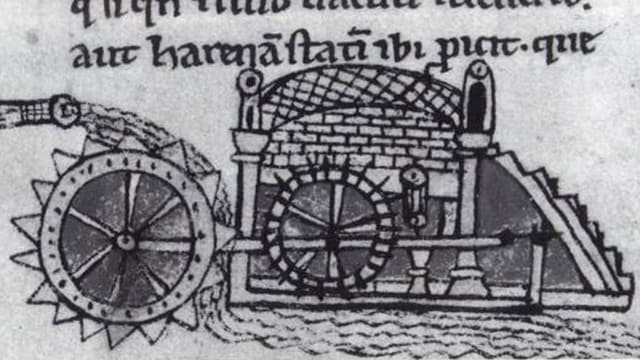 Wassermühle.