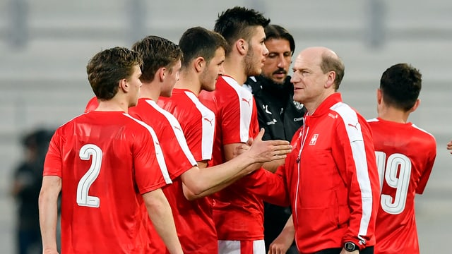 U21-Nationalcoach Heinz Moser.