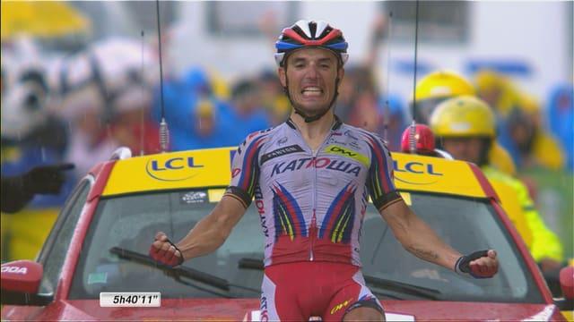 Rodriguez gewinnt die 12. Etappe der Tour de France.
