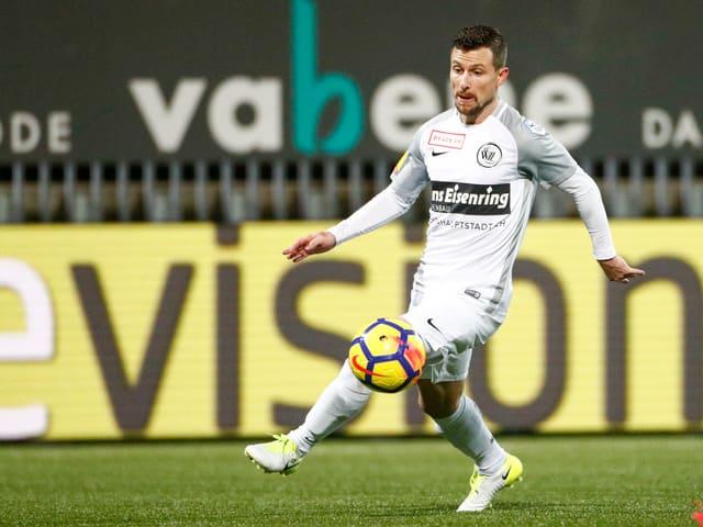 Sandro Lombardi gehört zu den wenigen Routiniers im Kader des FC Wil.
