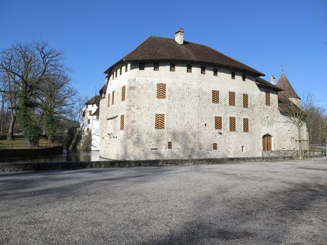 Schloss Hallwyl von aussen